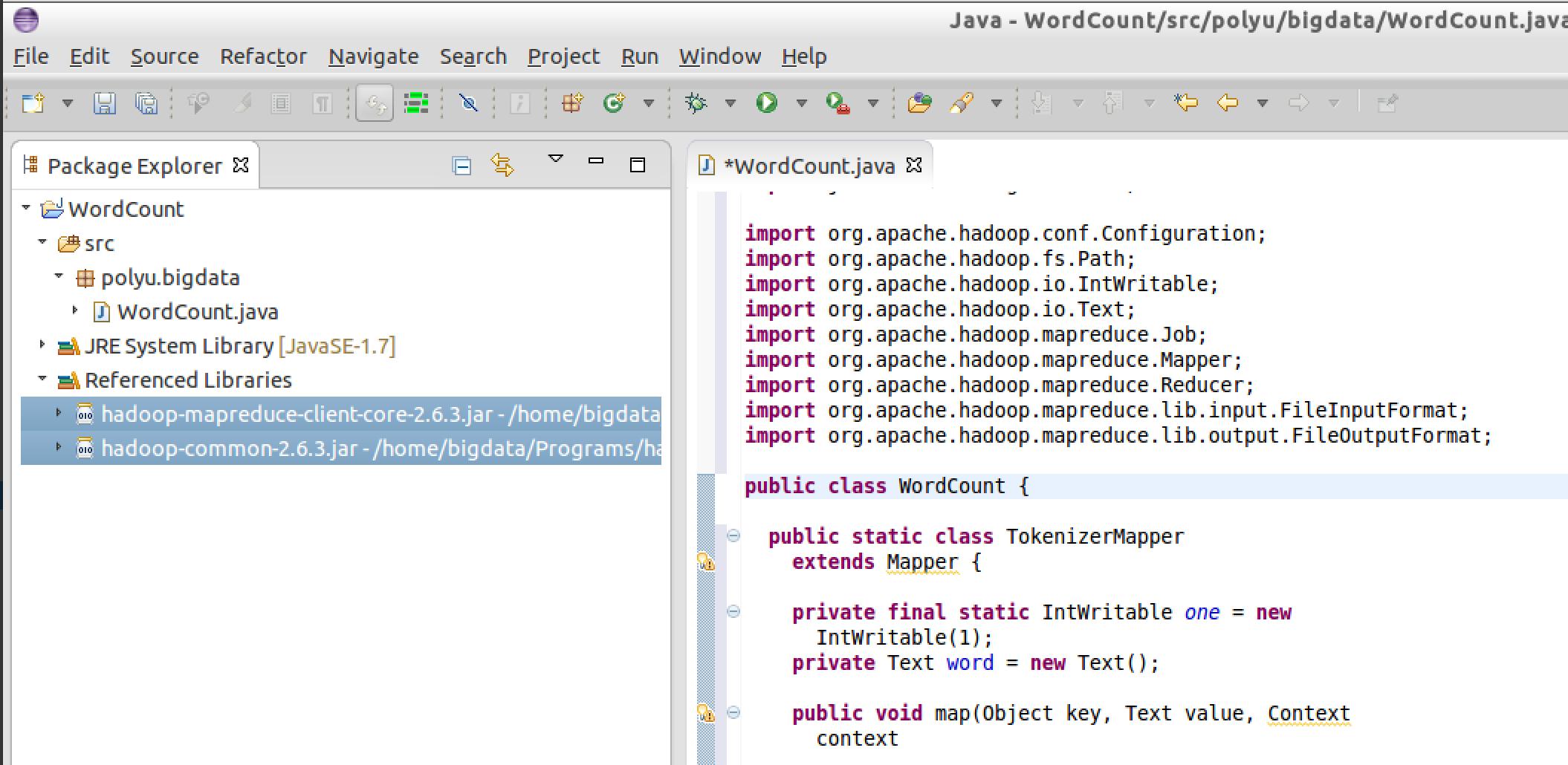Big data lab apache hadoop export jar file baditri Image collections